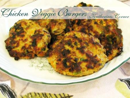 chicken and veggie burgers katherines corner