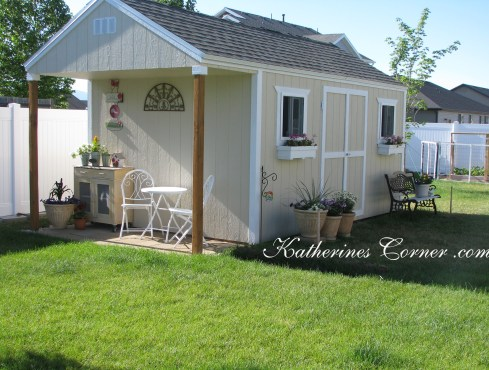 cottage garden shed katherines corner