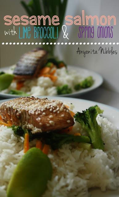 sesame salmon steaks