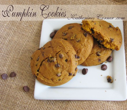 pumpkin cookies recipe