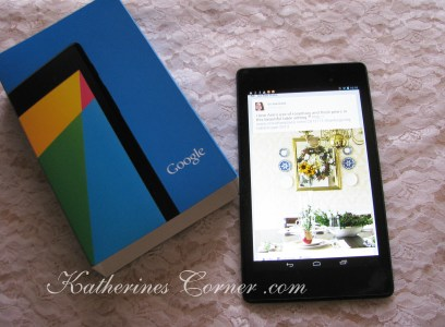 nexus 7 tablet for facebook