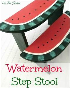 Watermelon Step Stool Craft