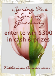 spring has sprung giveaway