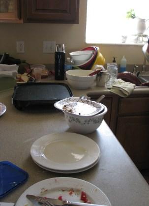 breakfast aftermath