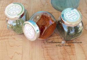 Homemade Seasoning Recipes