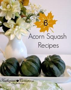 Six Acorn Squash Recipes