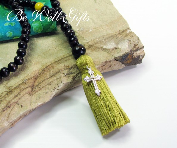 prayer beads with silver cross 2 be well gifts