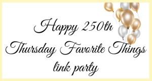 Celebrating 250 Link Parties