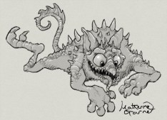 Monster a day number two by Katherine Garner