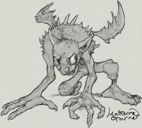 Winged Goblin by Katherine Garner