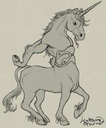 Unicorn fail-centaur