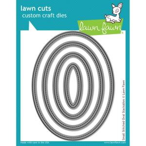 Lawn Fawn Large Stitched Ovals