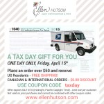One Day Only Special Offer From Ellen Hutson!