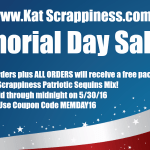 Kat Scrappiness New Word Dies & Memorial Day Sale & Coupon Code!