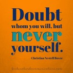 Doubt whom you will BCC