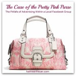 case of the pretty pink purse