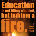 education bucket fire yeats