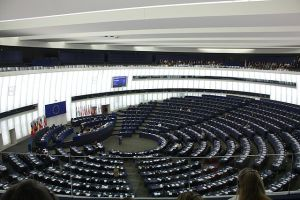 Europaparlament - Plenarsaal Foto: J. Patrick Fischer Quelle: Wikimedia Lizenz: CC-by-sa 3.0/de