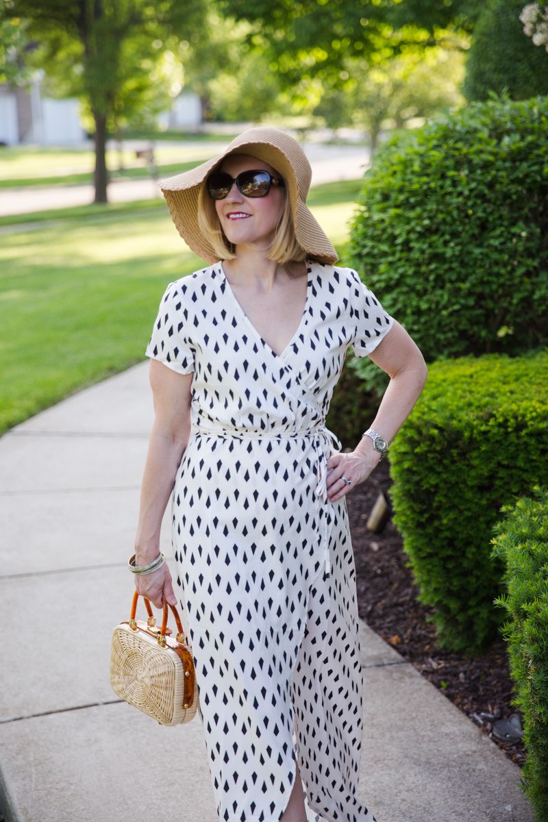 All Wrapped Up in Black and White - Kathrine Eldridge, Wardrobe Stylist