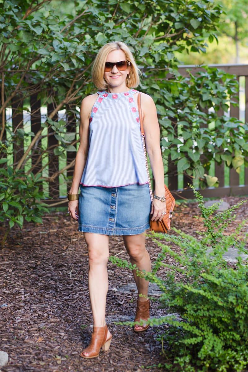 Cool Stripes - Kathrine Eldridge, Wardrobe Stylist