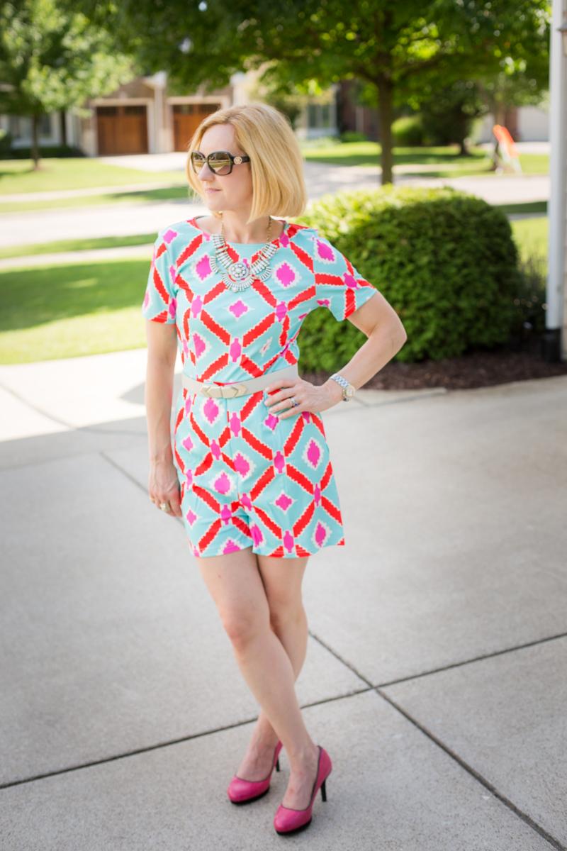 Criss-Crossed Color - Kathrine Eldridge, Wardrobe Stylist