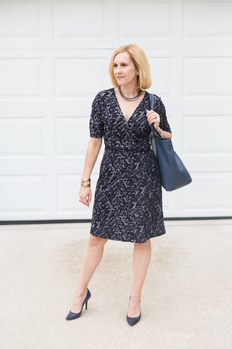 Wrap Dress for the Win - Kathrine Eldridge, Wardrobe Stylist
