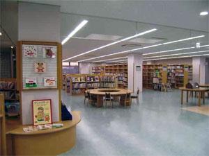 Kiryu Library Interior