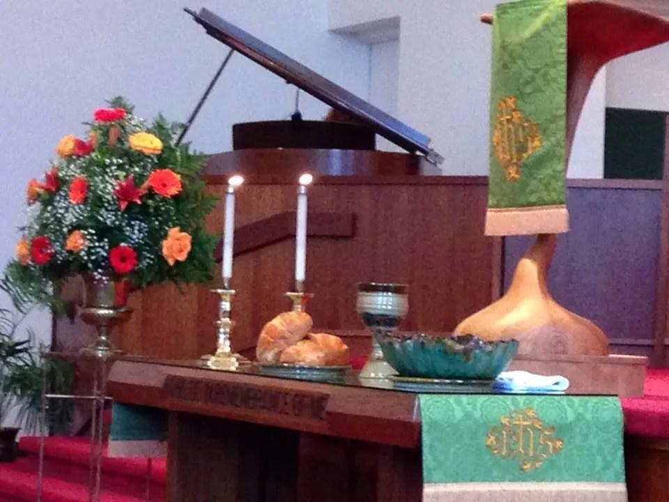 Communion at Kathwood Church