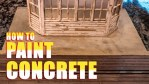 How to Paint Realistic Concrete