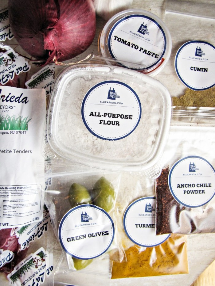 Blue Apron Meals - Review and Giveaway via Katie at the Kitchen Door
