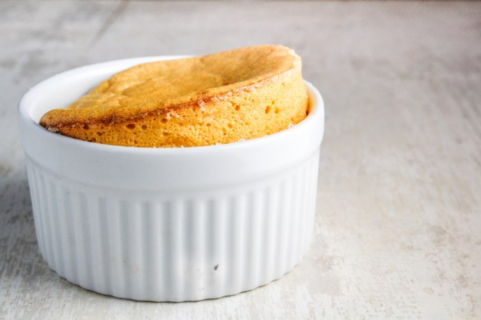 Sweet Potato Souffles with Rum Raisin Sauce #CaptainsTable #Thanksgiving {Katie at the Kitchen Door}