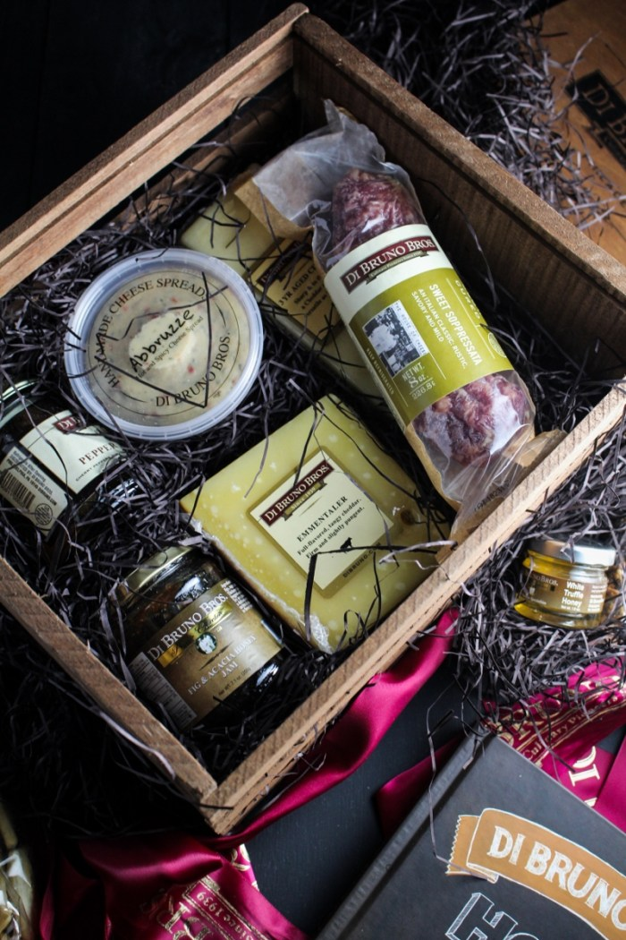 DiBruno Bros. Gift Box - Giveaway on Katie at the Kitchen Door! #houseofcheese