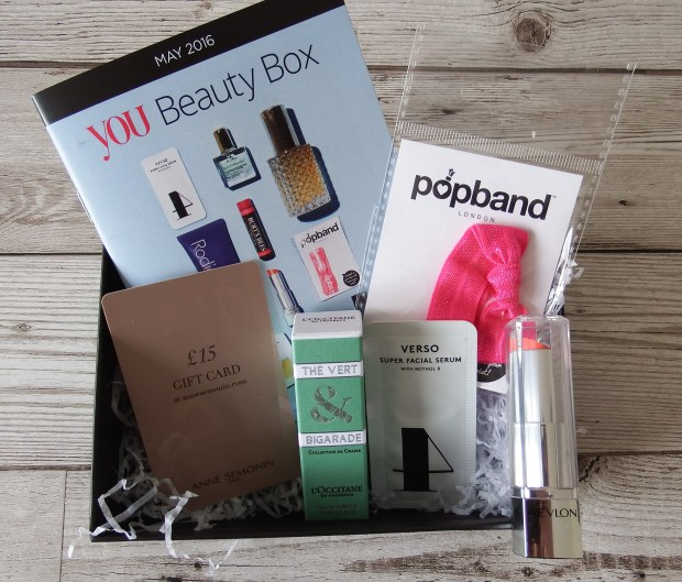 You Beauty Box May 2016 Review and Unboxing