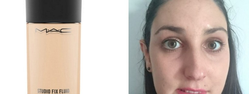 Mac Studio Fix Fluid Foundation Review