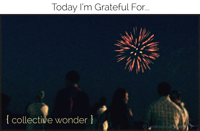 Today I'm Grateful For…{ creative wonder } from katienormalgirl.com