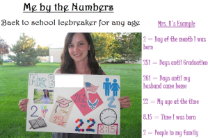 Back to School Icebreaker for Any Age!