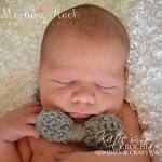 Free Newborn Crocheted Bow Tie Pattern