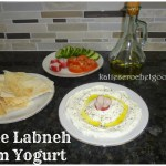 Homemade Greek Yogurt from plain yogurt