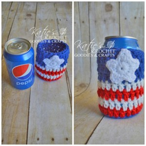Free USA Cozie Pattern