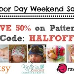 Labor Day Weekend Pattern Sale – 50% off!