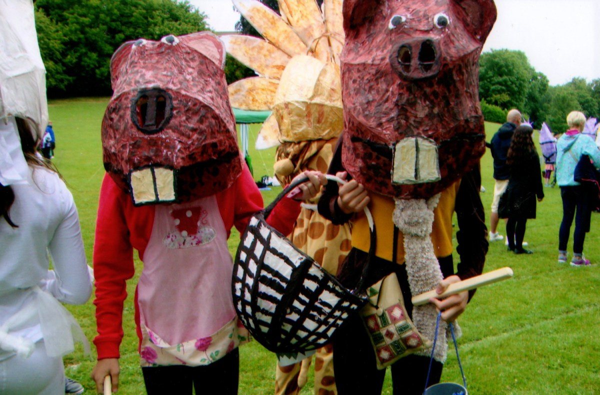 Patina Lewes, Beavers, carnival costume, patina lewes, Moving On