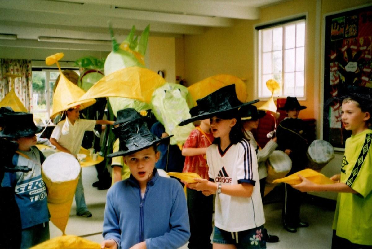 Banana gangsters, carnival workshops, dance routine