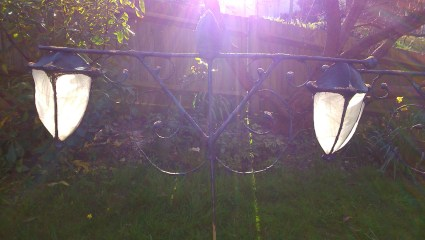 Lantern, willow sculpture, props,