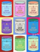 Jam Factory Exhib poster