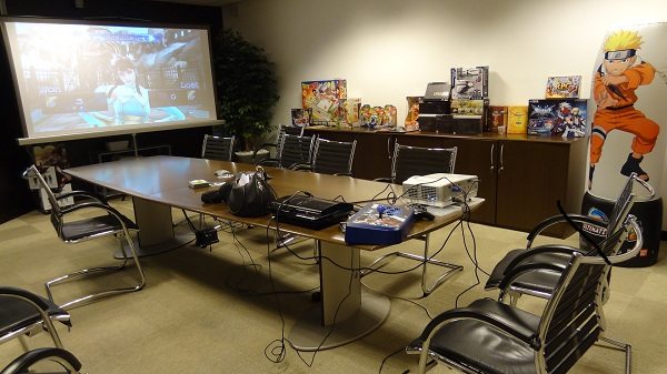 Namco Bandai Italy Meeting Room where I played :)