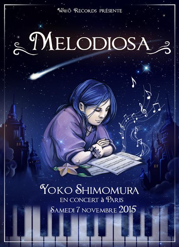 L'affiche officielle du concert.