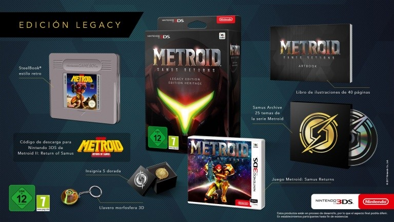 Edition Collector Metroid Samus Returns