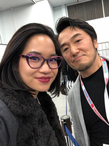 Kayane et Motohide Okubo