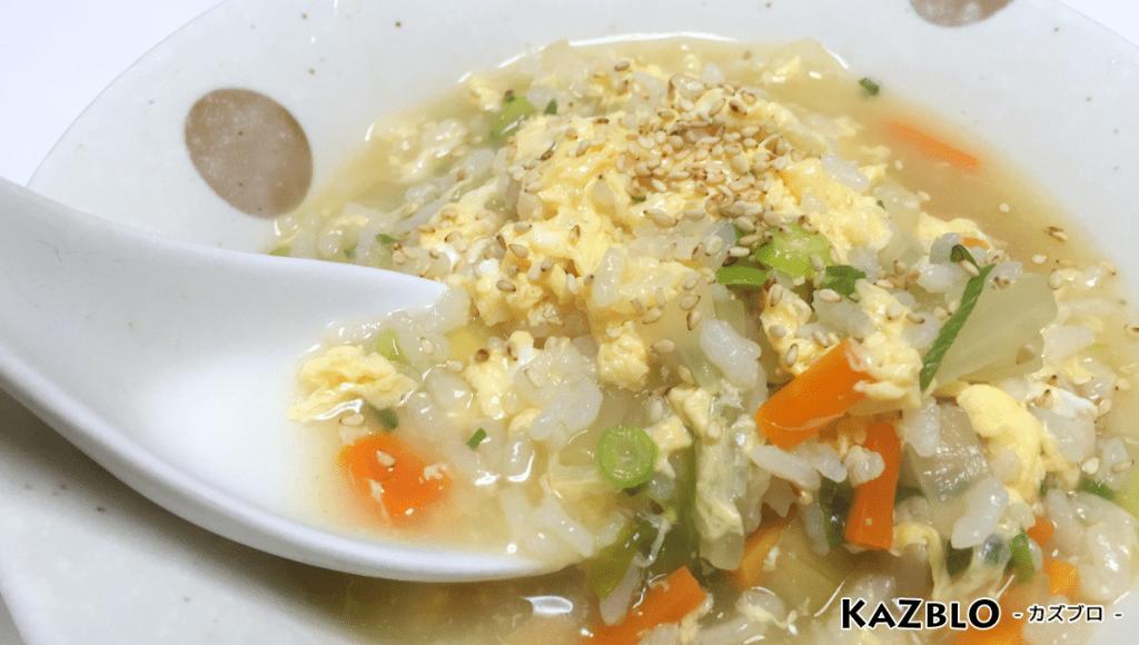 生姜の卵雑炊