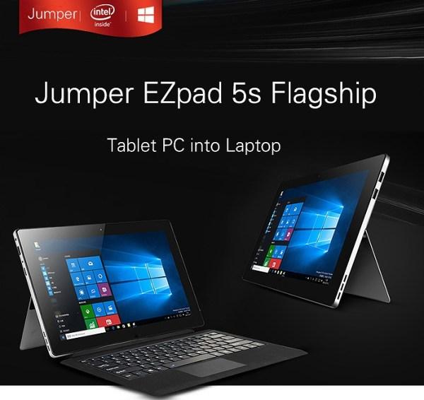 Jumper EZpad 5s Flagship 2 in 1 Ultrabook Tablet PC